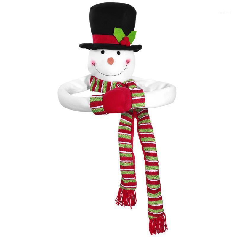Рождественская елка Топпер Снеговик Убог Рождественский Снеговик Верхняя часть дерева Ублюдок Зимний Дом отдыха Дом Decor1