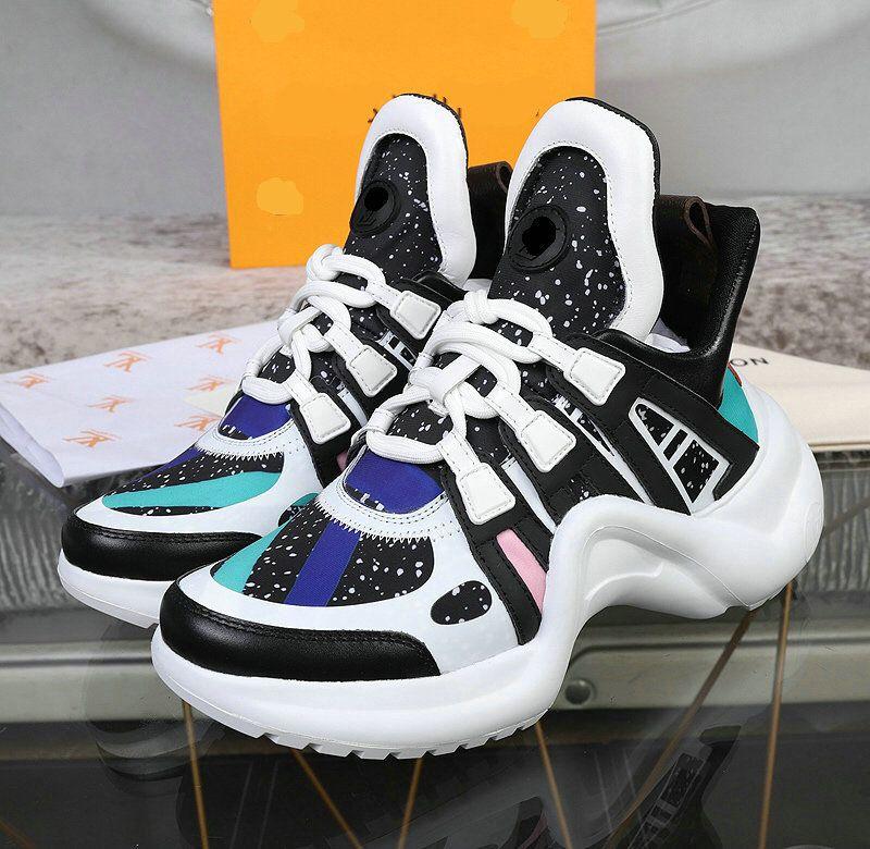 Новый дизайнер бренда ACE кроссовки женщин мужчины повседневные дизайнерские туфли мода черный белый прогулочный спортивный спортивный ботинки 35-42