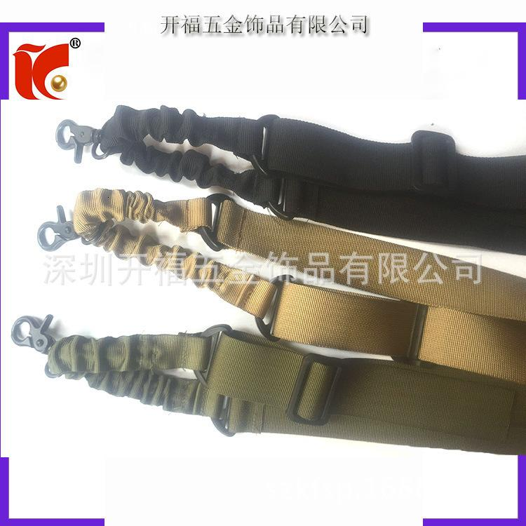 Sangle de harnais multifonctionnelle de pointage de pointage unique pour les fans militaires