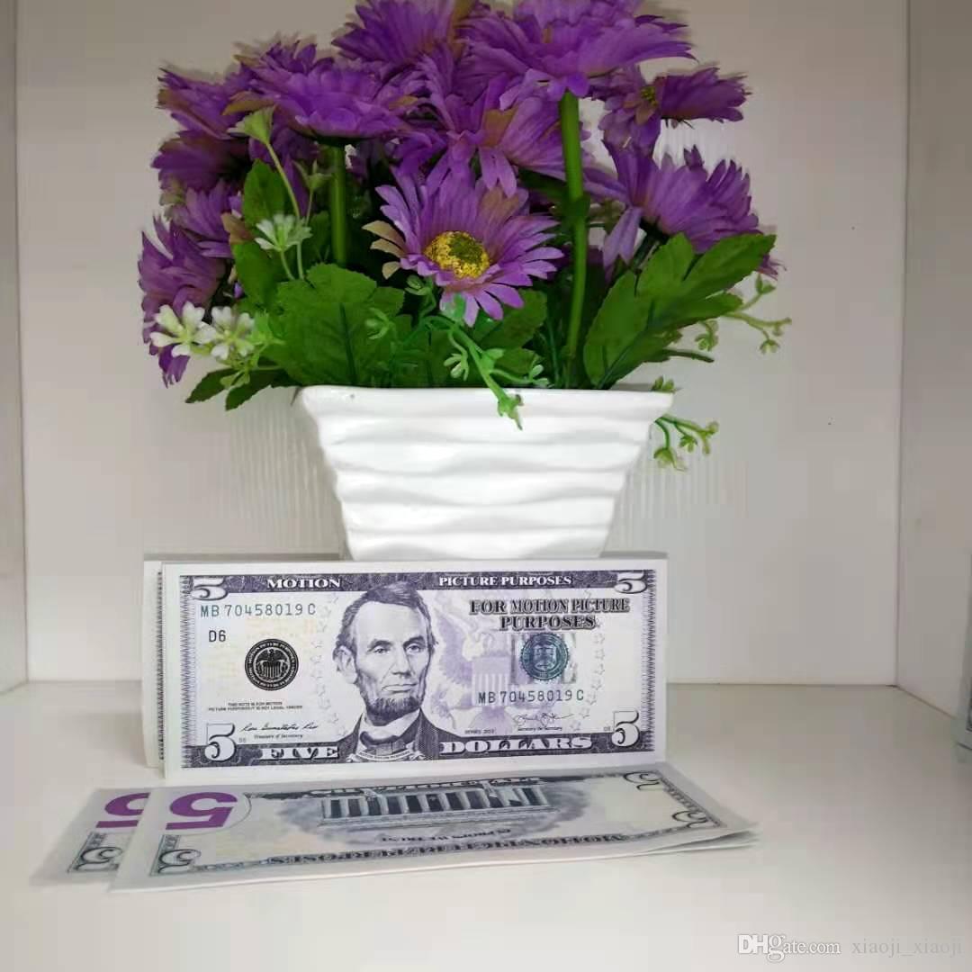 Mais brinquedos realistas dinheiro simulação adult adultos dólar infantil jogo adereças de filmes especiais Bar Libra de libra Bill Prop Face Valor 005 Auvbl