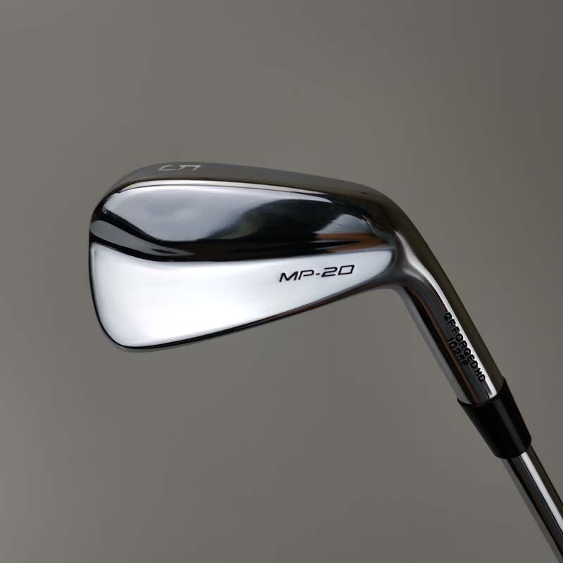 MP20 Golf Kulüpleri Gümüş Ütüler Set 3-9 P 8 ADET Çelik Mil veya Grafit Mil Çubuk Kapak Ücretsiz Kargo