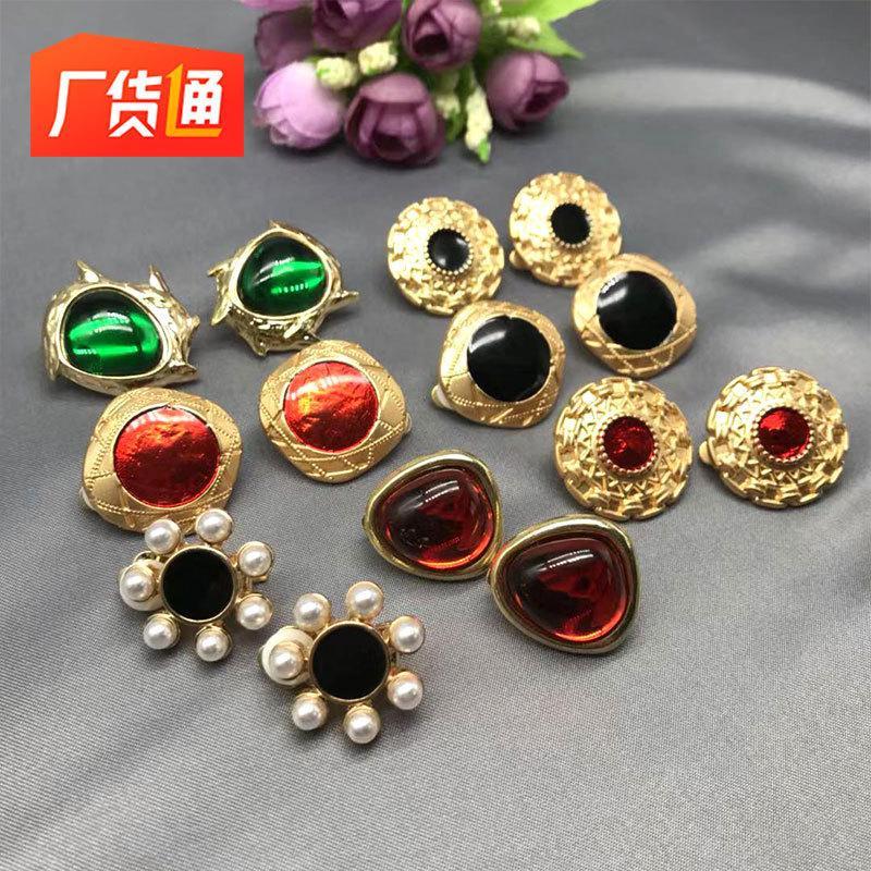 مجوهرات سيري إبرة أقراط من نفس النوع متعدد الألوان لا تلاشى ضوء اللؤلؤ