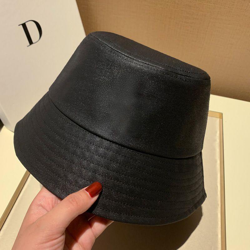 دلو قبعة النساء القبعات وقبعات خليط غسلها الدينيم دلو قبعة الهيب هوب الصلبة واسعة بريم القطن شاطئ الصيد كاب