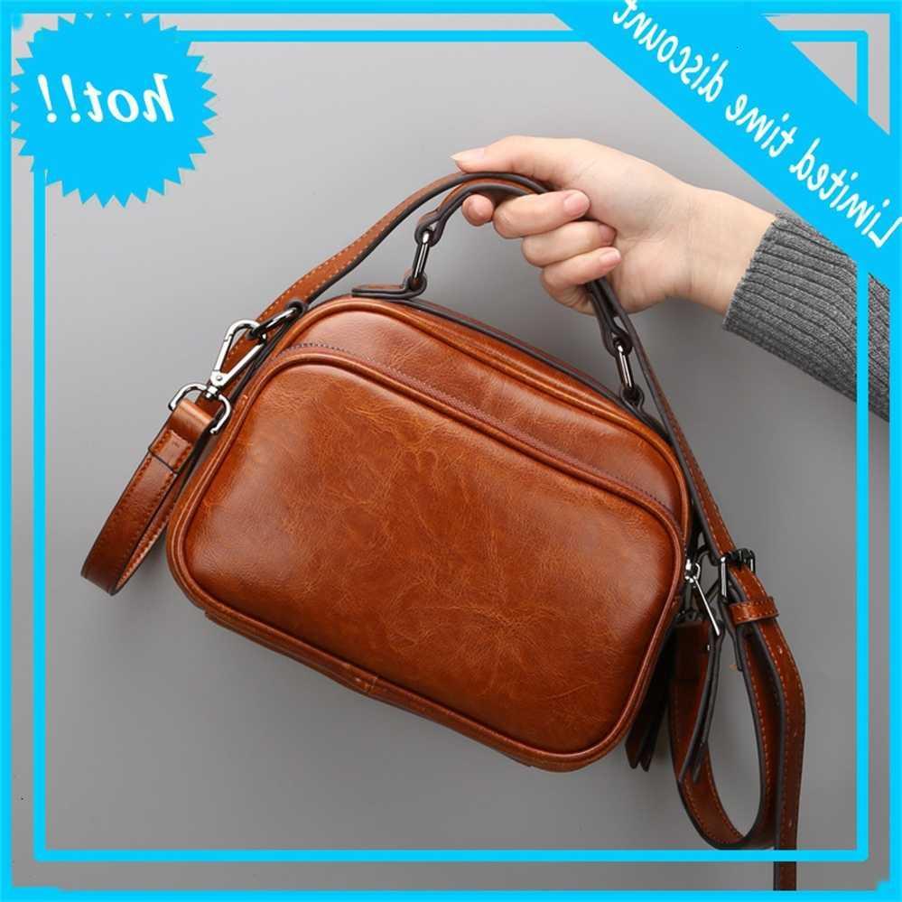Кожаная кожаная кожа 2020 новая мода однократное повседневная универсальная сумка мессенджер женская сумка