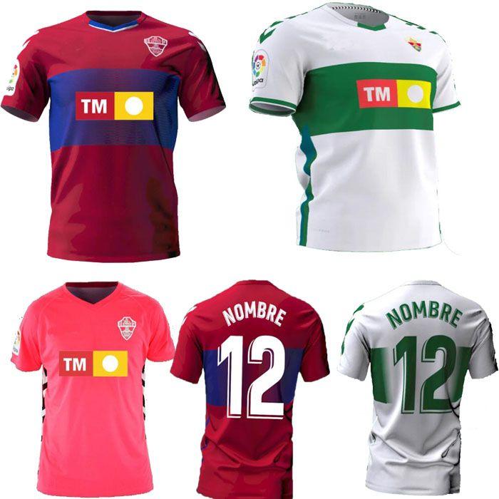 Acquista Nuovo 2021 Elche CF Soccer Jerseys Casa Away Rodriguez Pere Milla Iván Marcone Fidel Calvo Milla Josan Raúl Guti 20 21 Camicie Da Calcio A ...