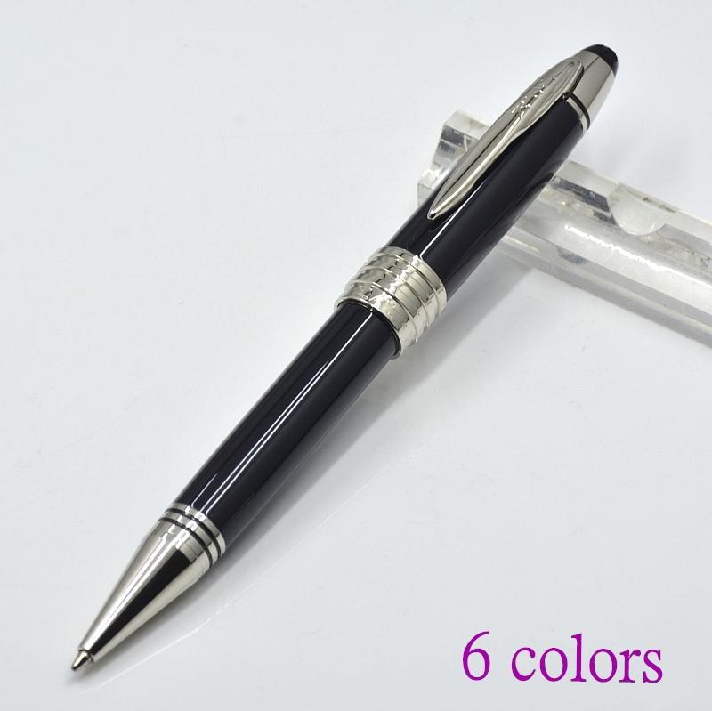 classique jfk 6 couleurs métal bille stylo bureau bureau papeterie promotion écriture cadeau cadeau