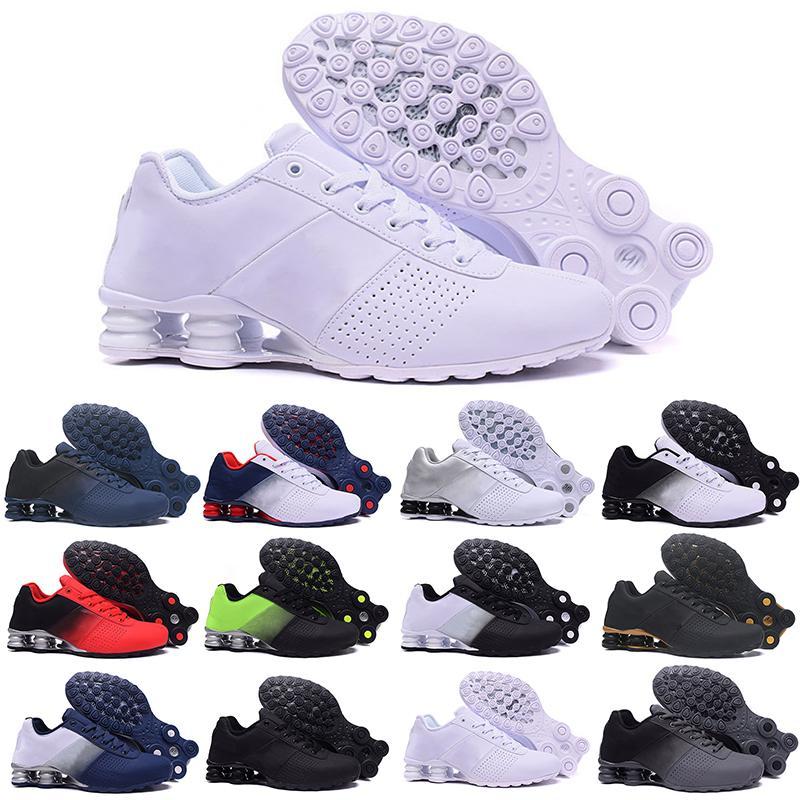 Shox 809 803 R4 2019 الجديد تسليم 809 رجل قطرة هواء شحن بالجملة الشهيرة يسلم OZ NZ رجل رياضي حذاء رياضة مدرب الرياضة حذاء عرضي 36-46 G52