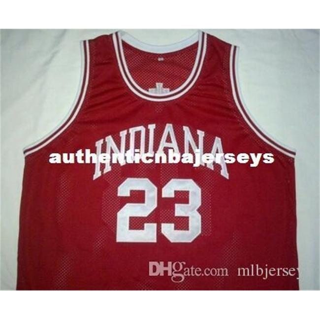 Custom # 23 Eric Gordon Indiana Hoosiers College Basketball Jersey Bordado cosido Custom An Número y Nombre Jerseys
