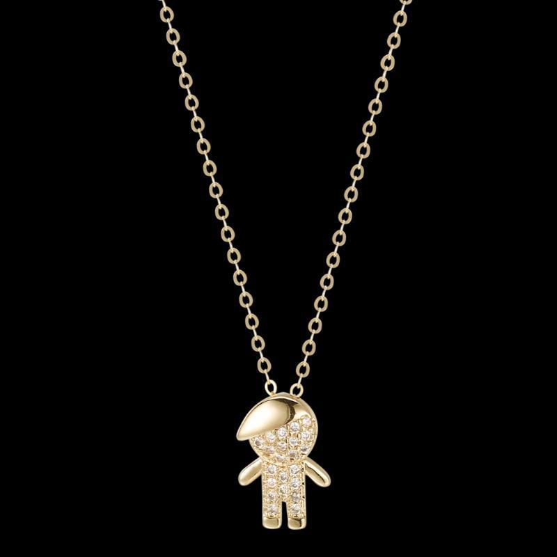 Fahmi 2020 New Popular 100% 925 Sterling Silver Collana4-43 Gioielli originali di alta qualità per le donne Regalo di nozze del partito