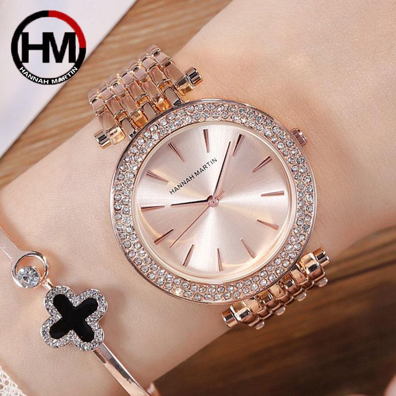 Rose Gold Mulheres Pulseira Relógios Para As Mulheres Rosa Aço Inoxidável Relógios De Prata Relógio Feminino Elegante Relogio Feminno 2019 J1205