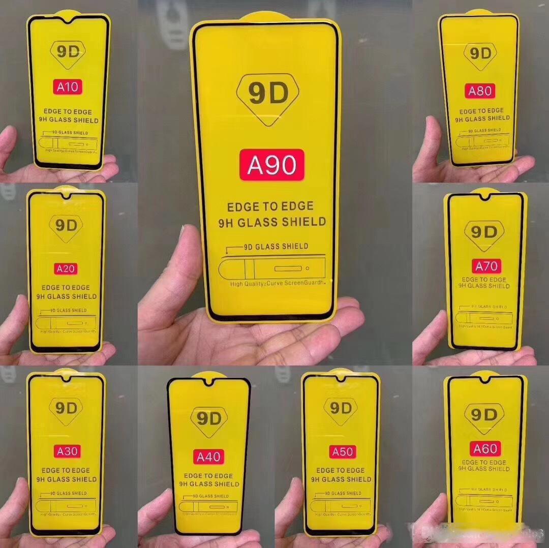 Mobile Full-Screen Free Film Screen A30A50 PCBT Endurecimento Aplicável Samsung Full-Glue A70 A10 Telefone A10 A A20E Film Rosto SCVB