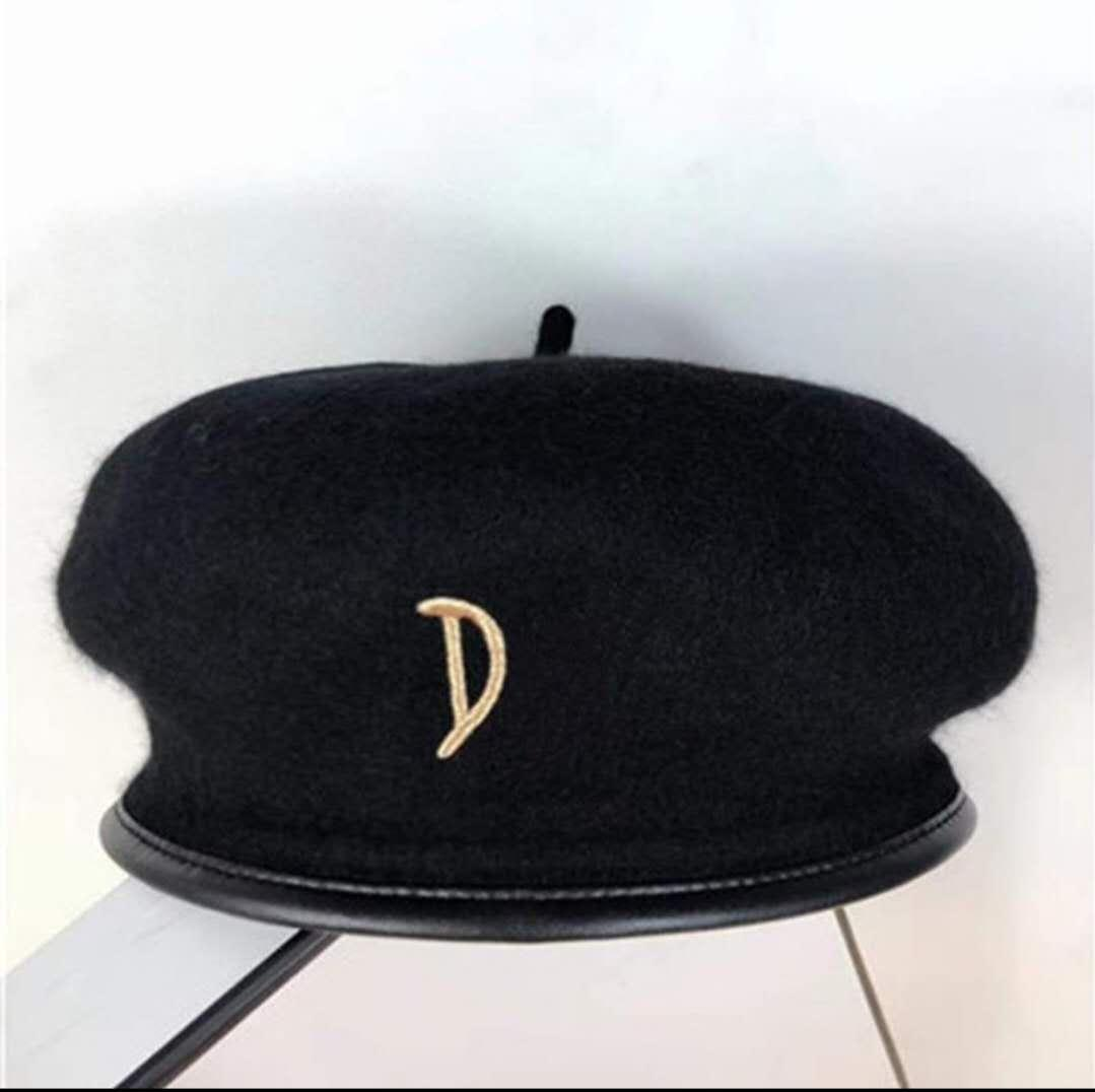 Sıcak Yüksek Kalite Haute Couture Newsboy Şapka Bereliler Kış Sonbahar Fashionelegant Şapkalar İngiliz Tarzı Kızlar Sanatçı Ressam Kap Sıcak Şapka Eretet