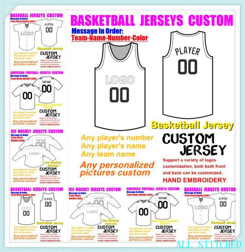 Custom Baseball Hockey Basketball Mens pour femmes Jeunesse Américaine Football Jerseys Sports Vapeur Intouchable Jersey Jersey Elite 4XL 5XL 6XL