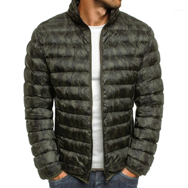 Hermanquilla de los hombres abrigos moda hombres 2021 algodón caliente parka casual cremallera slim fit ultra luz chaquetas de invierno coats1