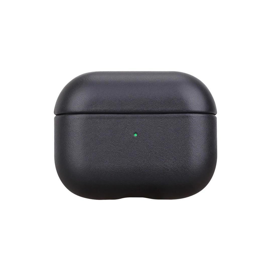 Luxus Mode Leder für Airpods Pro 3 Hüllen Schutzabdeckung Hakenverschluss Keychain Anti Lost Mode Kopfhörer Fall Protector