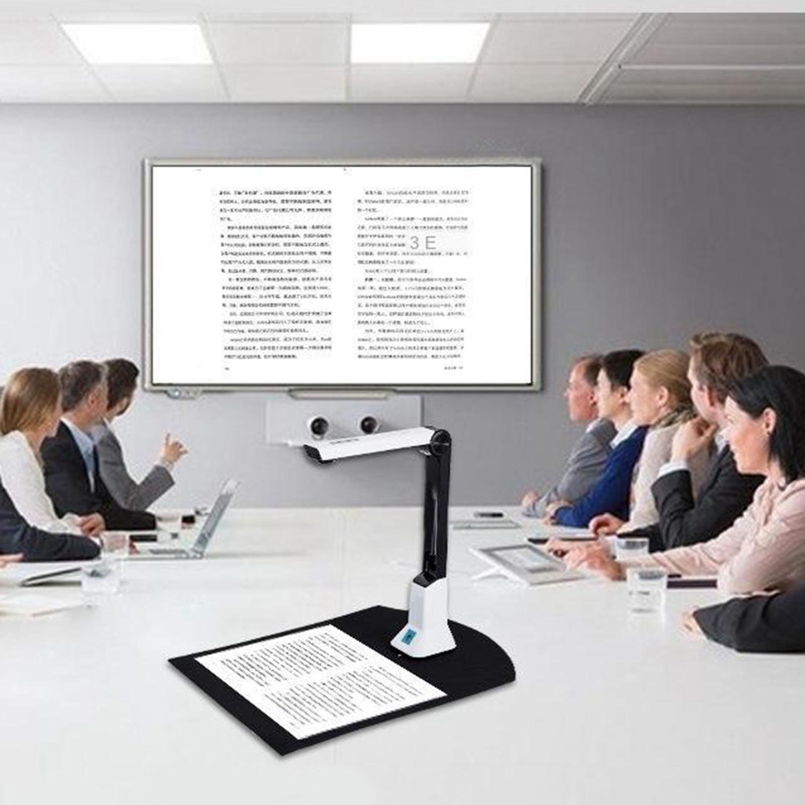 Taşınabilir 8MP USB Belge Kamera A4 Biçimlendirici Tarayıcı, Yazılım Yedi Dili Destekler