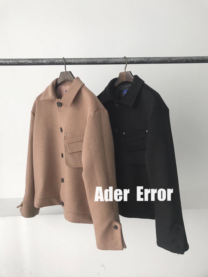 Miscele di lana da donna Han Guochao Brand Ader Error Menard Breve paragrafo giacca allentata, cappotto femminile alla moda
