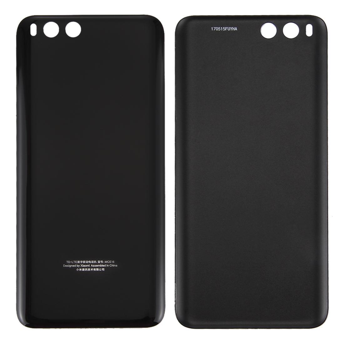 Pour la couverture arrière de la batterie Xiaomi Mi 6 de la batterie de verre