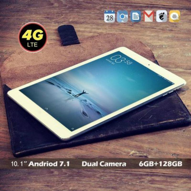 Tablet PC 2021 WiFi 10 Inch Ten Core 4G Network Android 8.0 Arge 1280*800 IPS Screen Dual SIM Camera Rear 5.0 MP IPS1