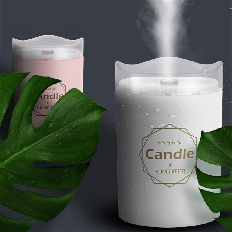 300ml Luftbefeuchter Mini-Zerstäubung Öllampe Reinigen Neue Spread-Duftfrau Frau Aromatherapie-Maschine Home Supplies 18Js K2