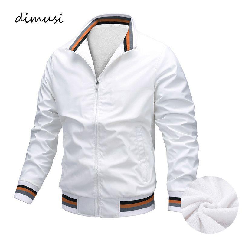 Winter Men's Bomber Jackets Casual Outwear Fleece Warm Cargo Coats Fashion Streetwear Hip Hop Trench Jacket Mens Clothing