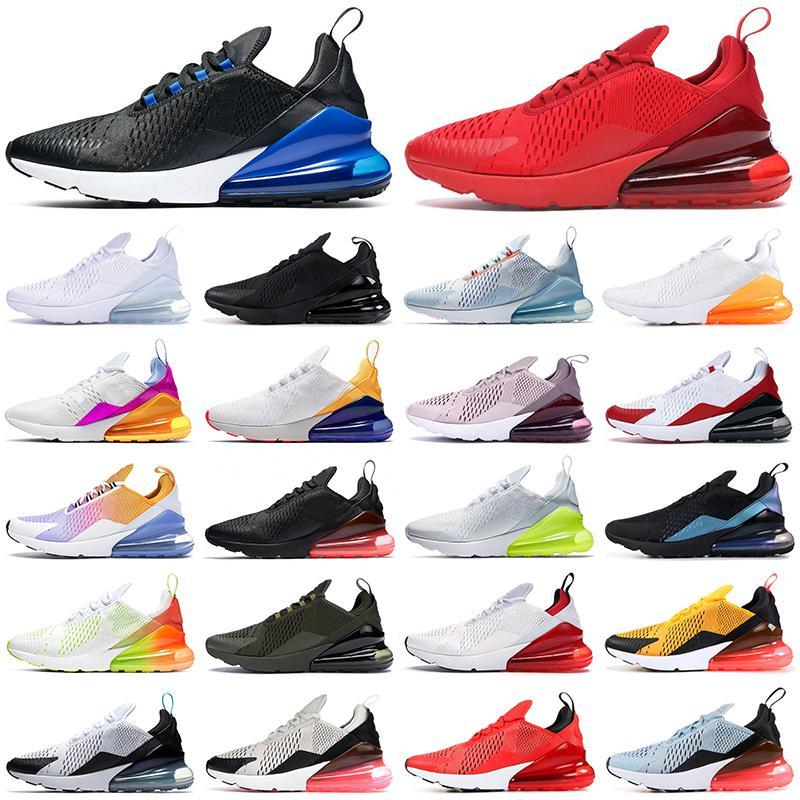 max 270s حذاء الجري 270 ثانية ثلاثي أبيض أسود أحمر نسائي أحذية رياضية خارجية