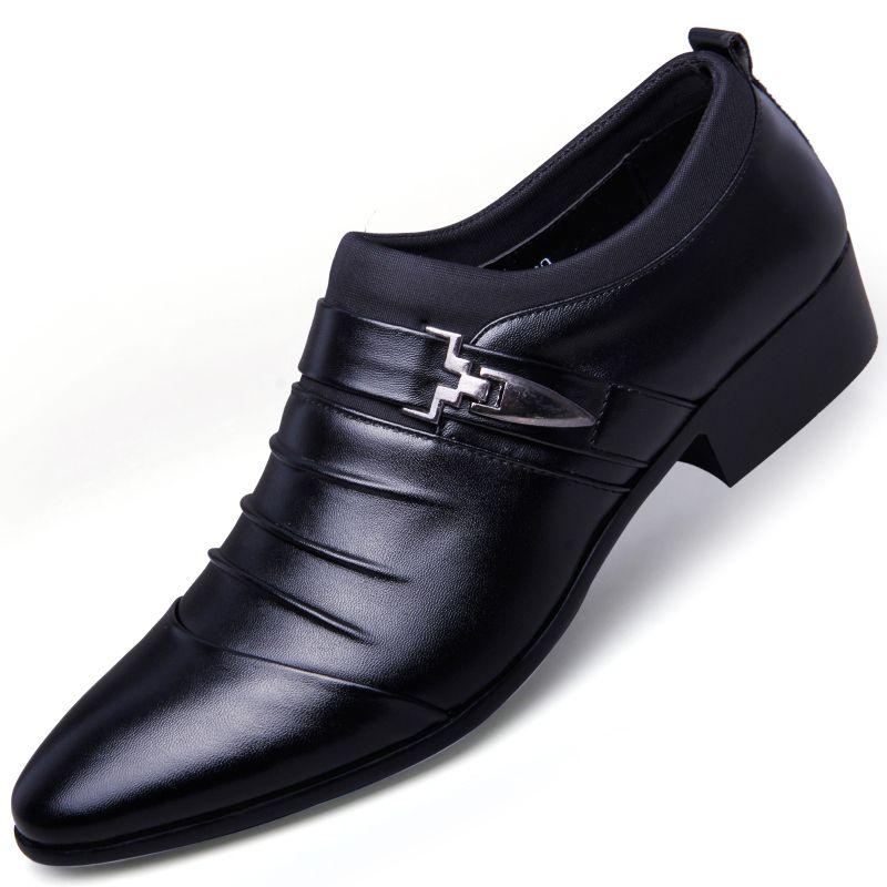 Erkekler Elbise 2018 Loafer için Sıcak Satış-Tasarımcı Dudeli Hollow dışarı Oxfords Biçimsel ayakkabı erkekler Deri Düğün Ayakkabı Heren Schoenen Oxford Ayakkabılar