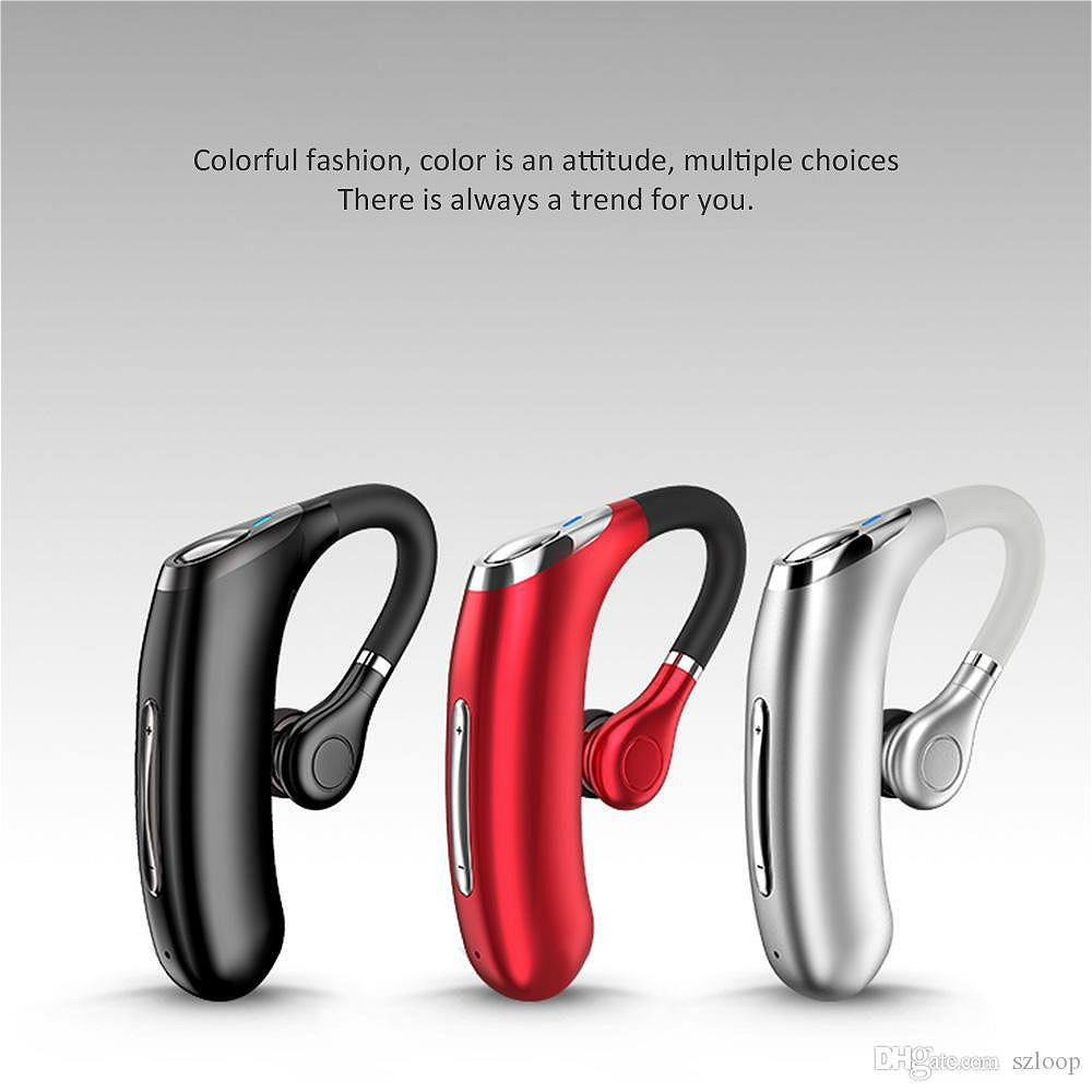 1pcs M50 Handsfree Wireless Bluetooth Earphones Noise Headphone Business Headset with Mic for Driver Sport Smartphones New Arrival