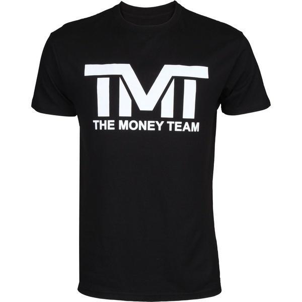 El equipo de dinero TMT Floyd Mayweather Classic Tee Shirts Cuello redondo para hombre Mangas cortas de manga corta Camiseta de algodón