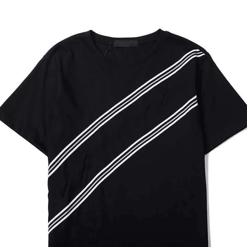 Camiseta de las mujeres de los hombres de la moda para el verano Nuevo Casual para hombre T Shirts Casual Hombre Mujer Streetwear Tees Ropa de alta calidad 2 Colores M-3XL