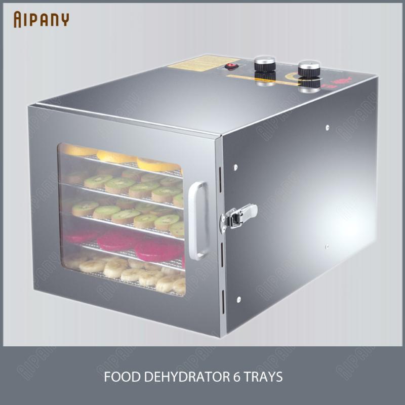 XH01 Gemüse-Frucht-Fleisch-Dehydratation für Wärmepumpe-Frucht-Dehydrator-Maschine 6-Lagen-10-Fach-Trockner