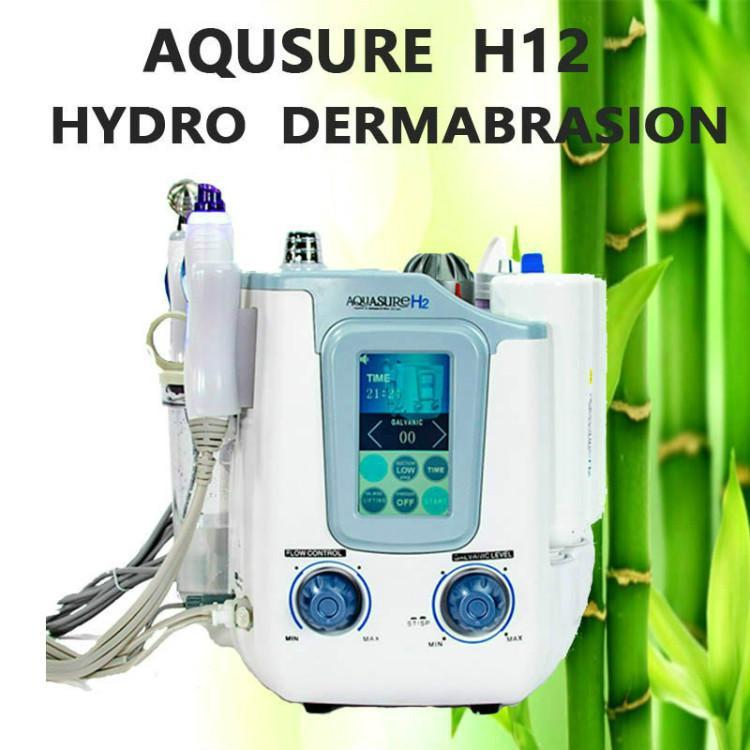 2020 neue technologie hydra h2 o2 wasser blase mikrocurent facial peeling tiefe reinigung facial spa maschine