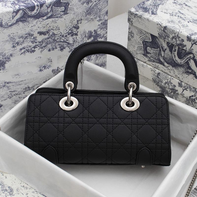 Top Lambskin Luxurys Designers Lady Mini Bags Mujeres Crossbody Bag Newest Vestido Compras Bolsos Bolsos Bolsos negros con caja
