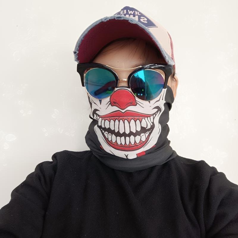 Fábrica10t2020 Halloween Crânio Magic Anime Skeleton Party Lenço Novo Quente Projetado Banada Neck Gaiter Outdoor Running SpO