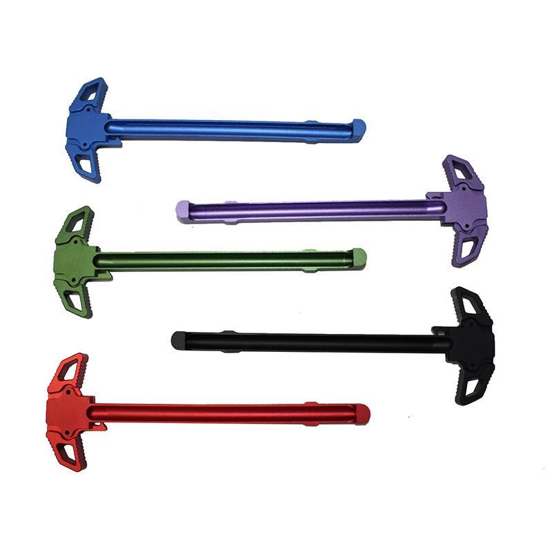 Piezas de herramientas de mango de carga negro para mango de metal AR-15 M4