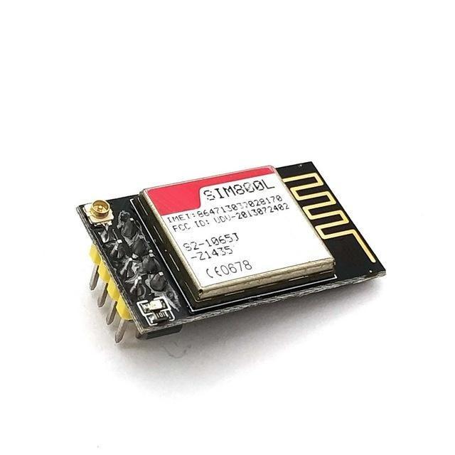 Oyunlar Aksesuarlar Yedek Parçalar SIM800L GPRS GSM Modülü Microsim Kart Çekirdek Kurulu Quad-Band TTL Seri Noktası için ESP8266 ESP32