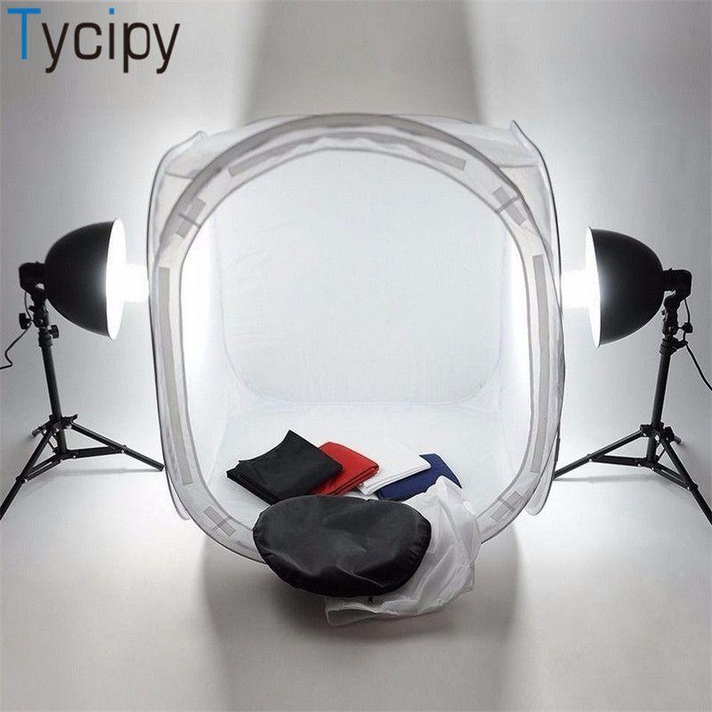 المحمولة Lightbox 80CM كاميرا خيمة softbox طوي صورة استوديو مربع التصوير الفوتوغرافي ضوء خيمة كيت lightroom للسلع عرض