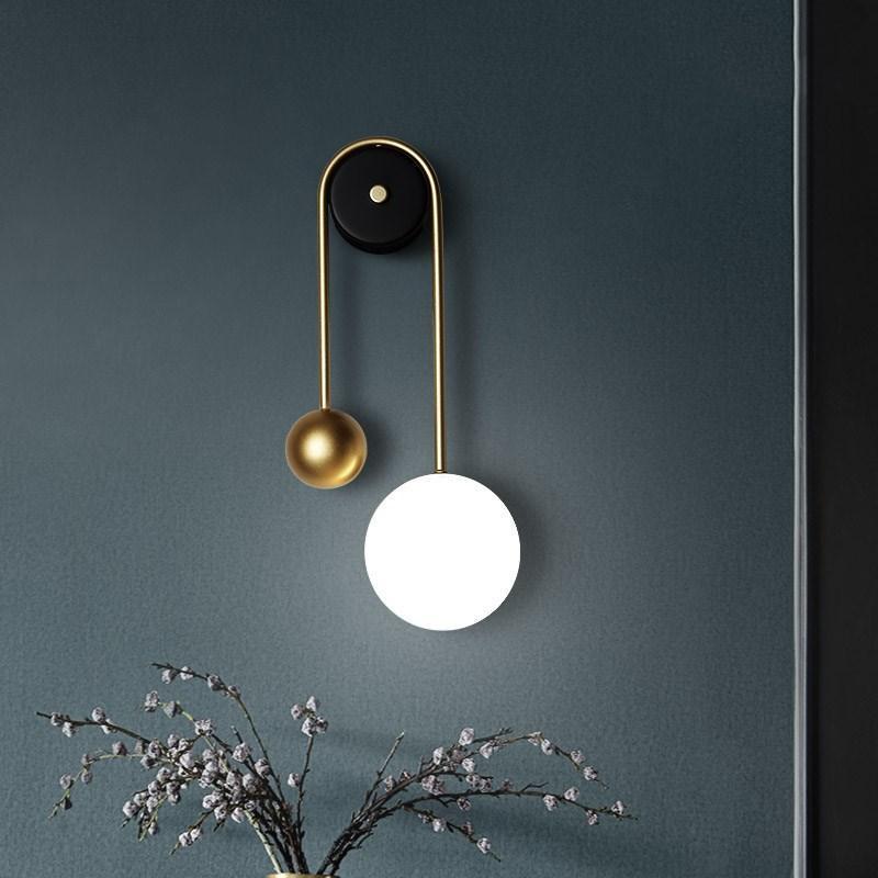 ArtPad novo design lâmpada de parede led luz minimalista sala de estar sofá quarto fundo branco luz branca sconce