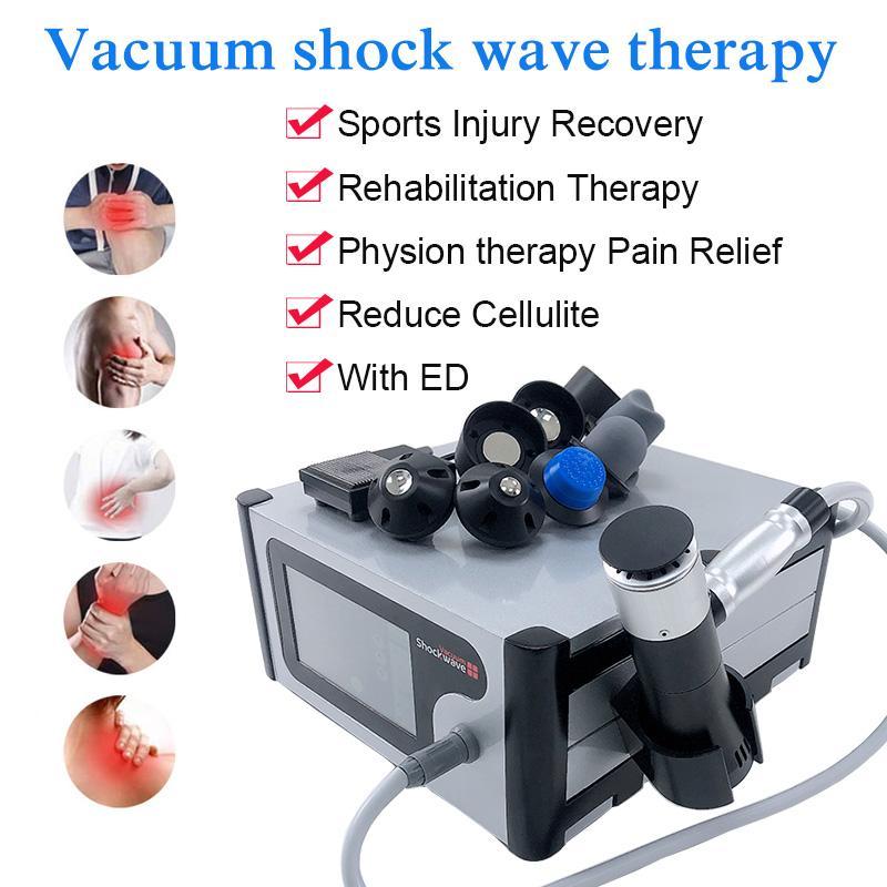 Máquina de terapia de onda acústica de succión de aspiración portátil para la reducción de la celulitis la pérdida de peso y la forma de adelgazamiento del cuerpo