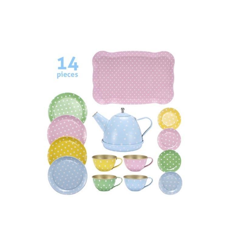 AC Çocuklar Öğrenme Eğitim Erkek Kız Serisi Simülasyon Çay Seti Oyuncaklar Çocuklar Için Doğum Günü / Noel Hediyesi 201021