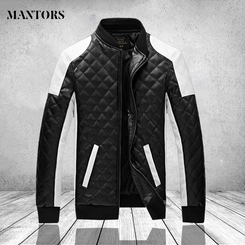 Black Men's Leather Jackets Autumn Winter Casual Motorcycle PU Jacket Biker Leather Coats Male Outwear Brand Clothing Plus Size 201119