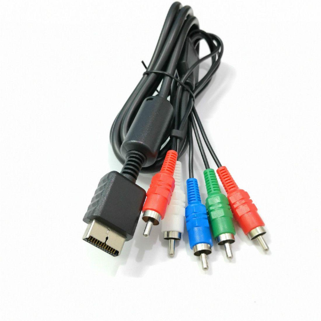 Filo del cavo del cavo dell'audio AV del componente HDTV da 1,8 m per Sony PlayStation 2 3 PS2 PS3 Accessorio del gioco
