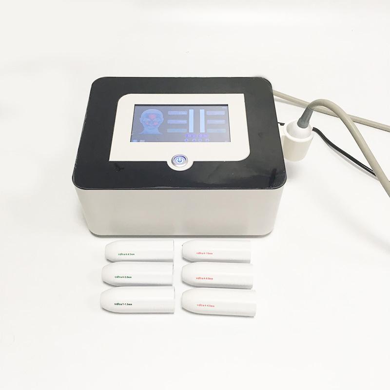 Professionnel Portable Haute Intensité Face ultrasonore Face à ultrasons Soulevant anti-ride-ride V Max HIFU Body Machine amincissant