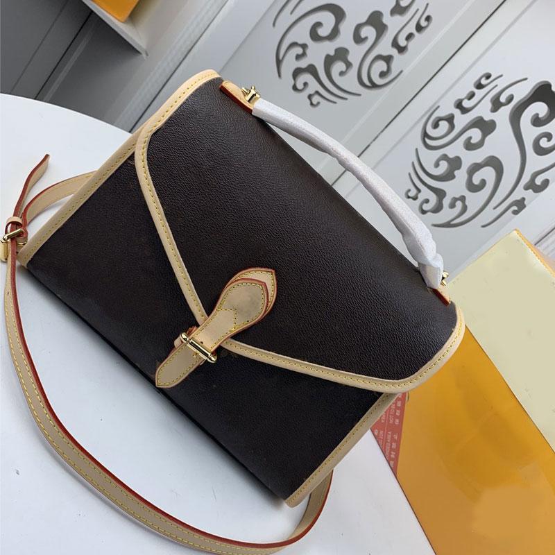 44919 Hombro de calidad Bolsos de moda Bolso 51123 Crossbody Genuine 3A Handbag Alto Totel Purso Messenger Bags Parisdesignbag XEFVC