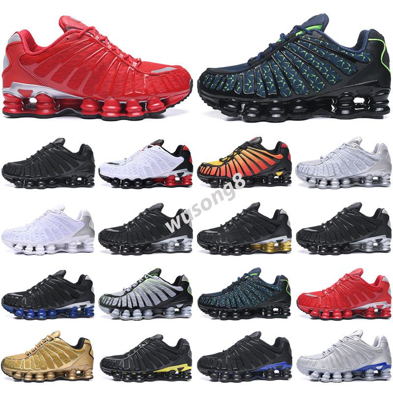Shox TL 2021 Sho R4 TL Zapatos para hombre Neymar Og Red Racer Blue Metallic Silver Silver Mens Trainers Fashion Sports Sports Sneakers Chaussures Tamaño 36-45