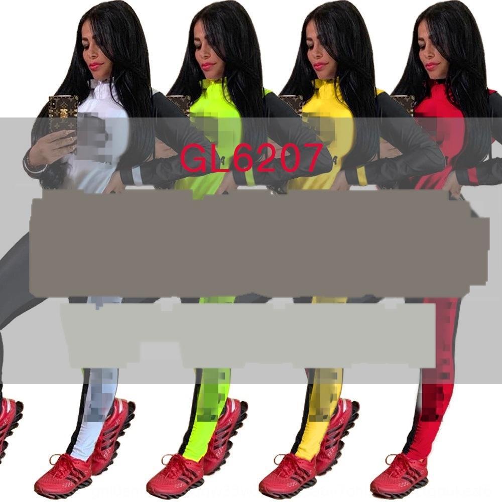 Thky Calças 2018 novas ternos de perna larga listrados definido com faixas de manga bolos de moda blusas flare nploe 2 pcs mulheres calças 68191 d18110706