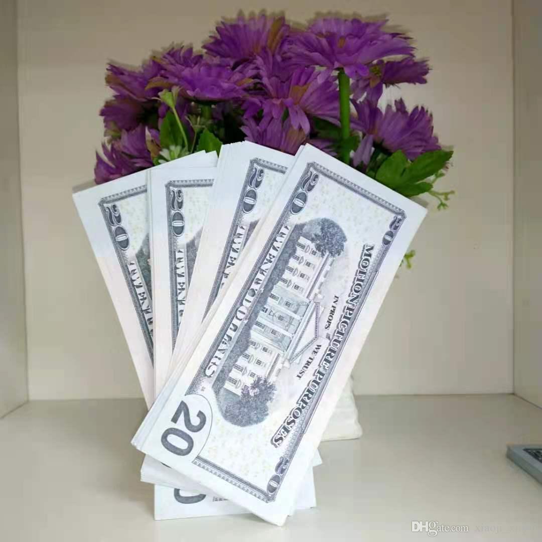 Dollars Money Bar Atmosphère Argent-D USD Copier Papier POISSON PAR BILLIOTHOTES 20 ENTRE DE VENTE DE MONDIALE DISPÔTS REALISTIQUES FAUX FAUX LDGMW