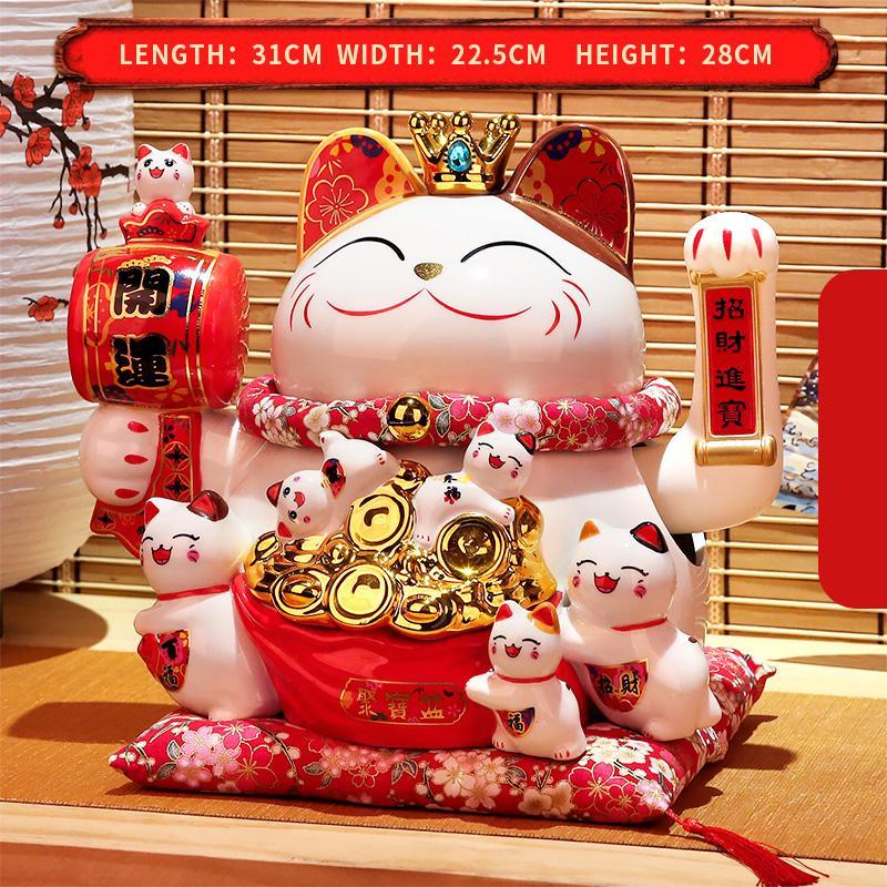 Può stringere le mani mankeki neko decorazione della casa regali bella ornamento fortunato regalo creamico fortuna catmoney fortunato gatto