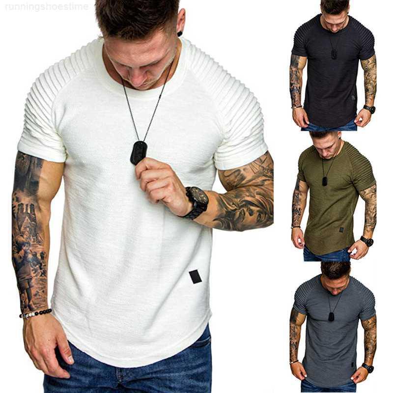 T-shirt à manches courtes à col rond 2019 pour hommes 2019
