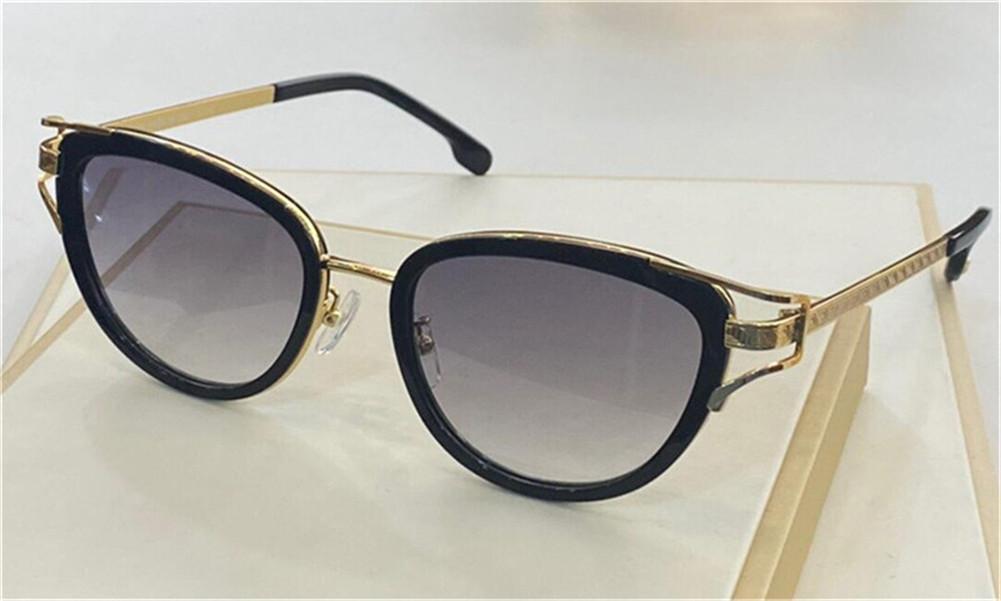 Atacado moda óculos de sol 2203 Cat Eye Frame Temple Clássico Estilo popular UV400 Óculos de Proteção de Proteção Qualidade superior